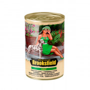 BROOKSFIELD Adult Dog консервированный корм для собак говядина с уткой и рисом