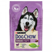 Dog Chow Senior для собак старше 9 лет, ягнёнок