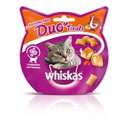 Whiskas DUO Treats, лакомство для кошек, индейка и сыр
